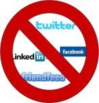 Ban social media image